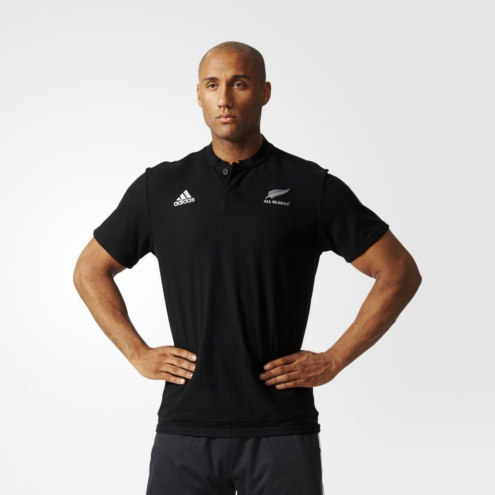 Adidas All Blacks Rugby Férfi Pólóing Fekete 69949645QN 6c9fd39e34