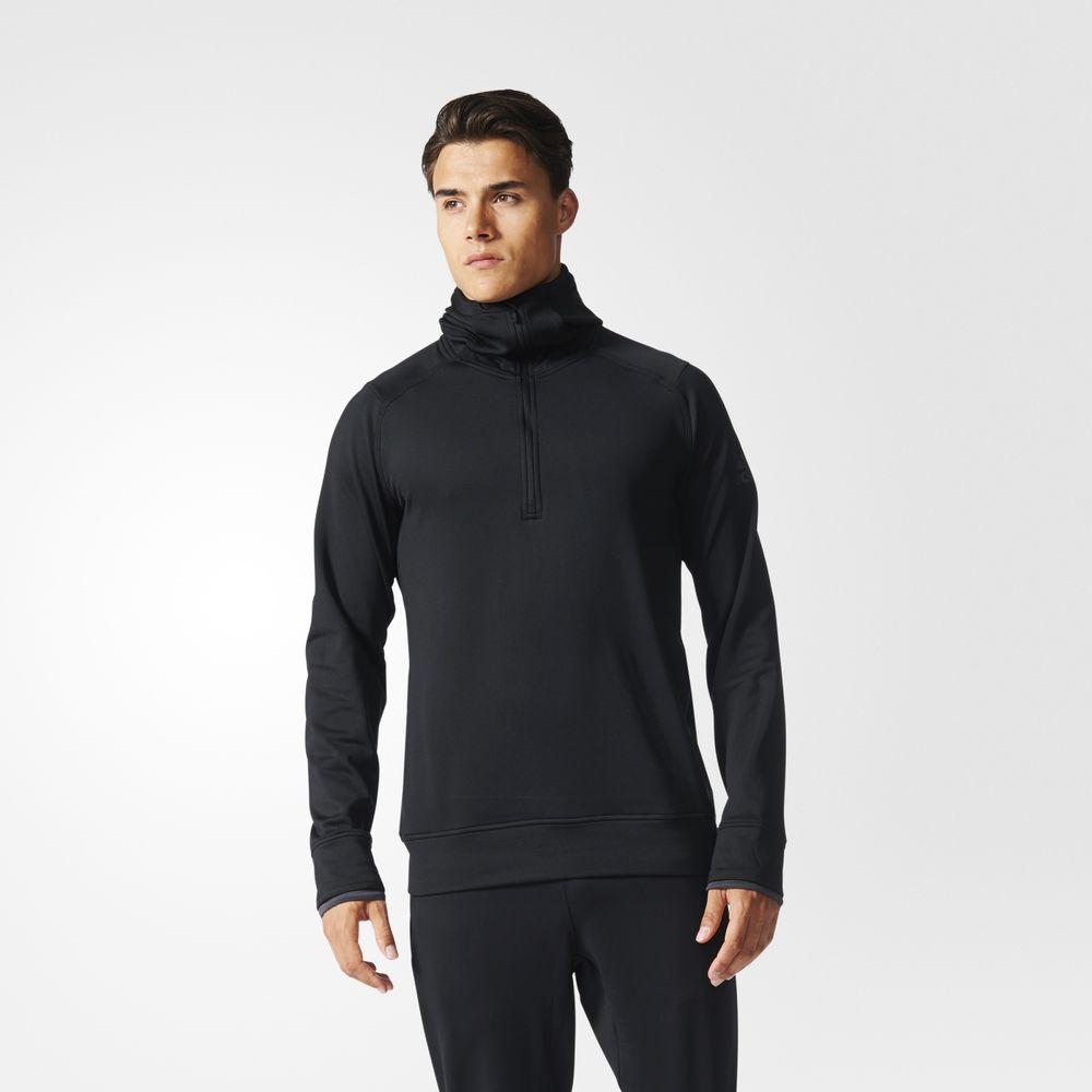 87f5ad34ef Adidas Climaheat Training Férfi Kapucnis Pulóver Fekete 57238464OQ