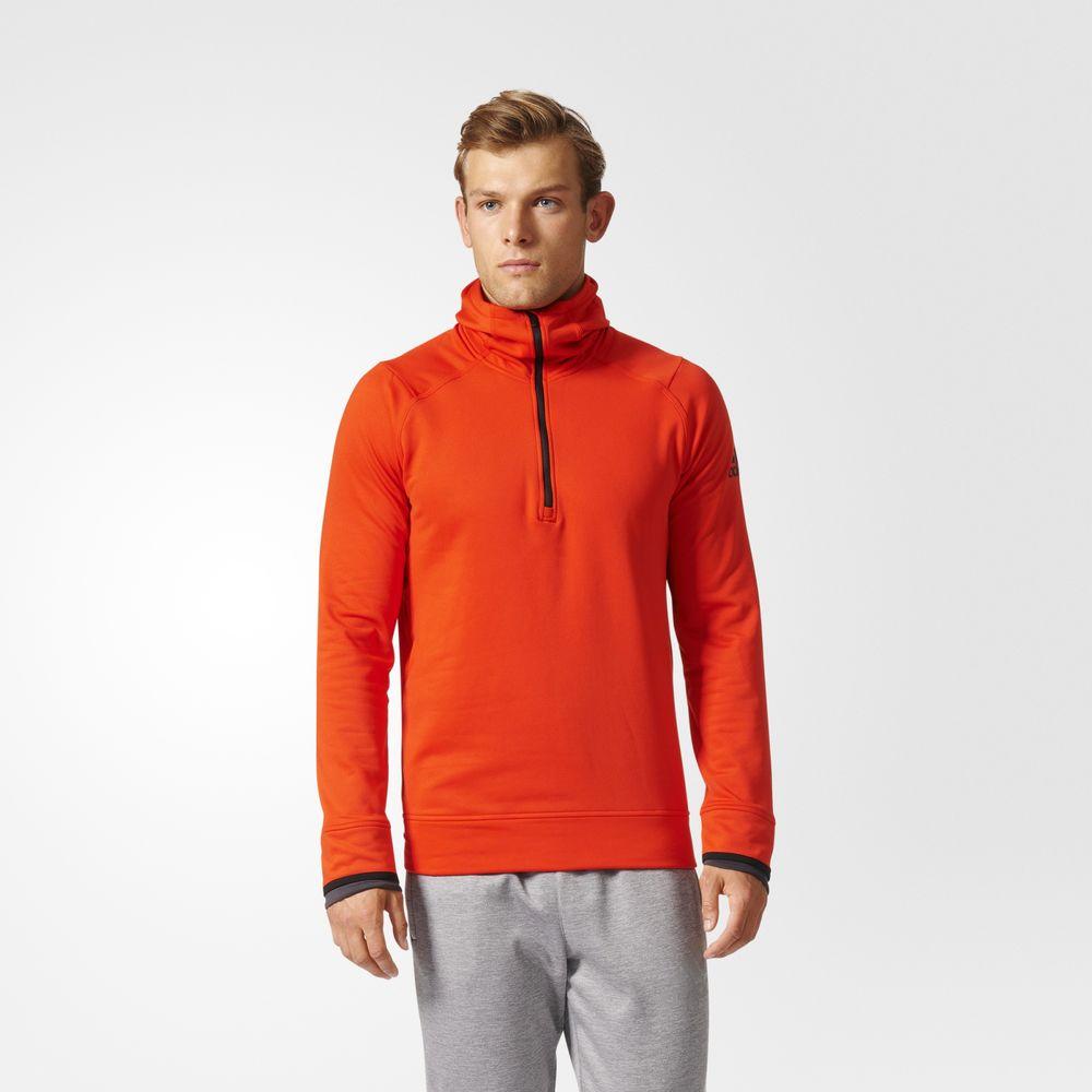 3cda97fbb5 Adidas Climaheat Training Férfi Kapucnis Pulóver Narancssárga 22741394IB