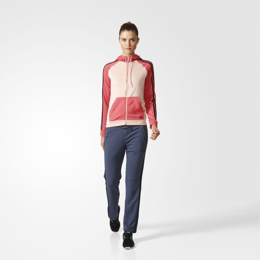 7fc734d9a2 Adidas New Young Női Melegítő Rózsaszín/Fekete Rózsaszín 35144958JM