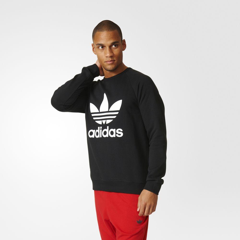 dcff90378485 Adidas Pulóver Vásárlás | Adidas Originals Trefoil Férfi Pulóver