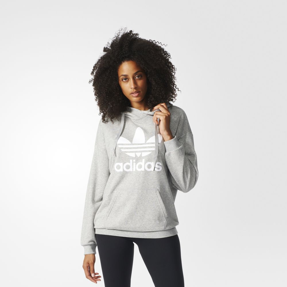 d8a062f97677 Adidas Kapucnis Pulóver Árak | Adidas Originals Trefoil Női Kapucnis ...