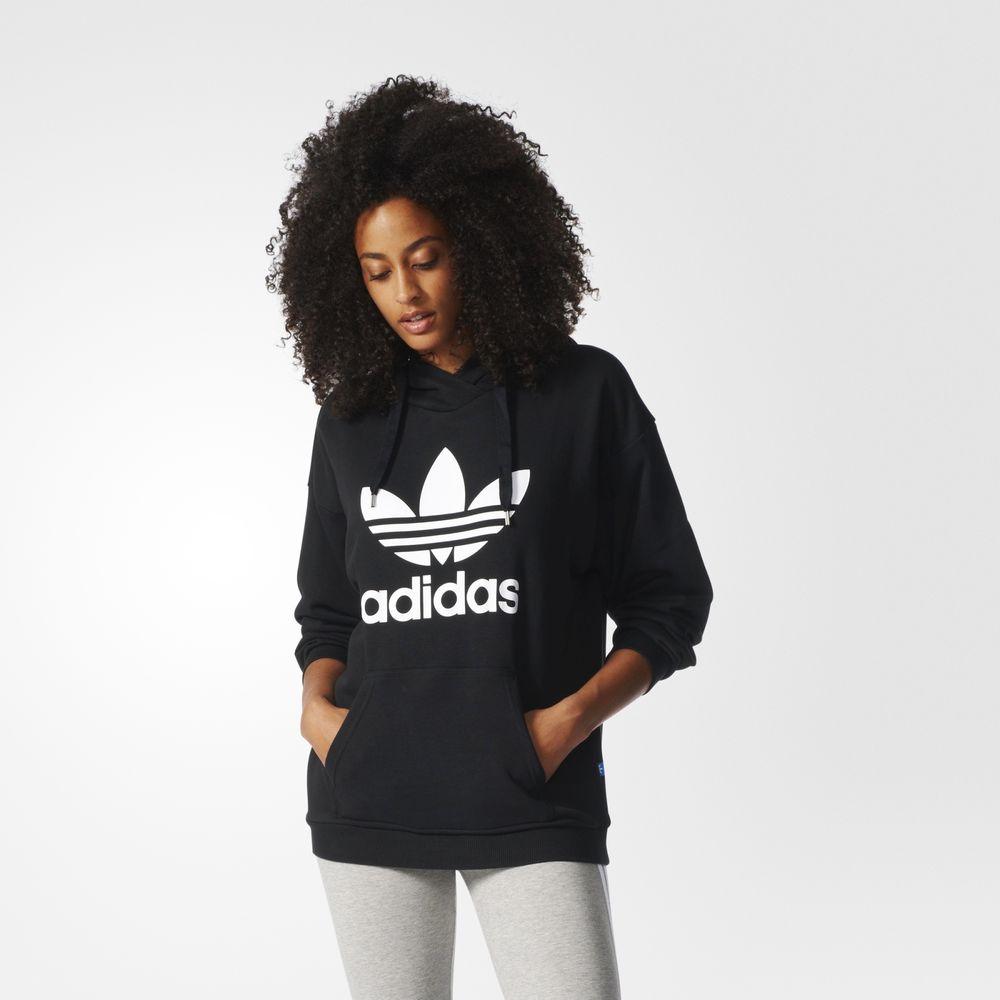 8ddb23e01dad Adidas Kapucnis Pulóver Webshop | Adidas Originals Trefoil Női ...