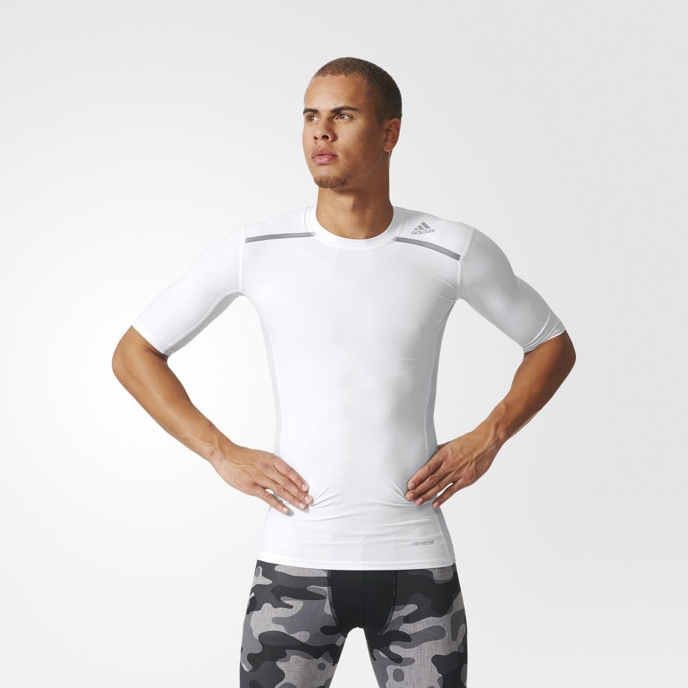 5798a322fe Adidas Póló Webáruház   Adidas Techfit Chill Rövid Ujjú Training ...