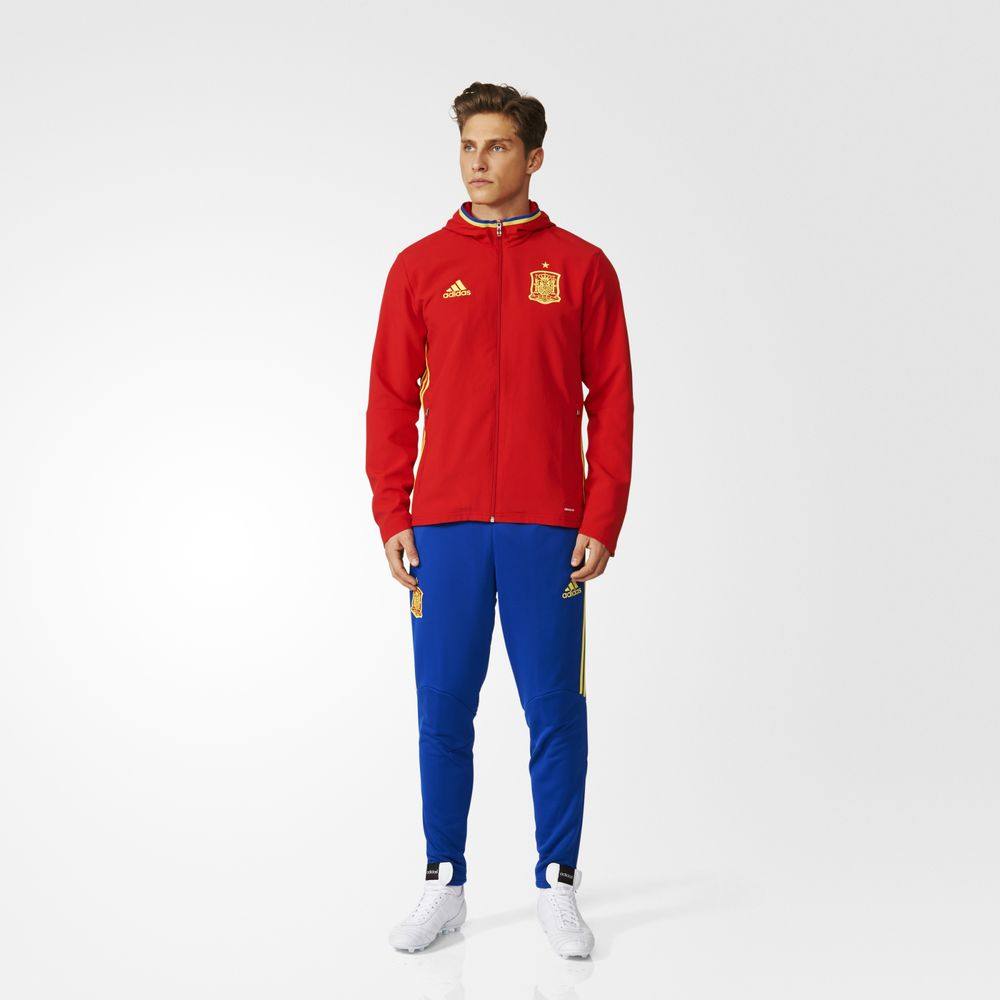 c041dff27b Akciós Adidas Melegítő   Adidas Uefa Euro 2016 Spain Presentation ...